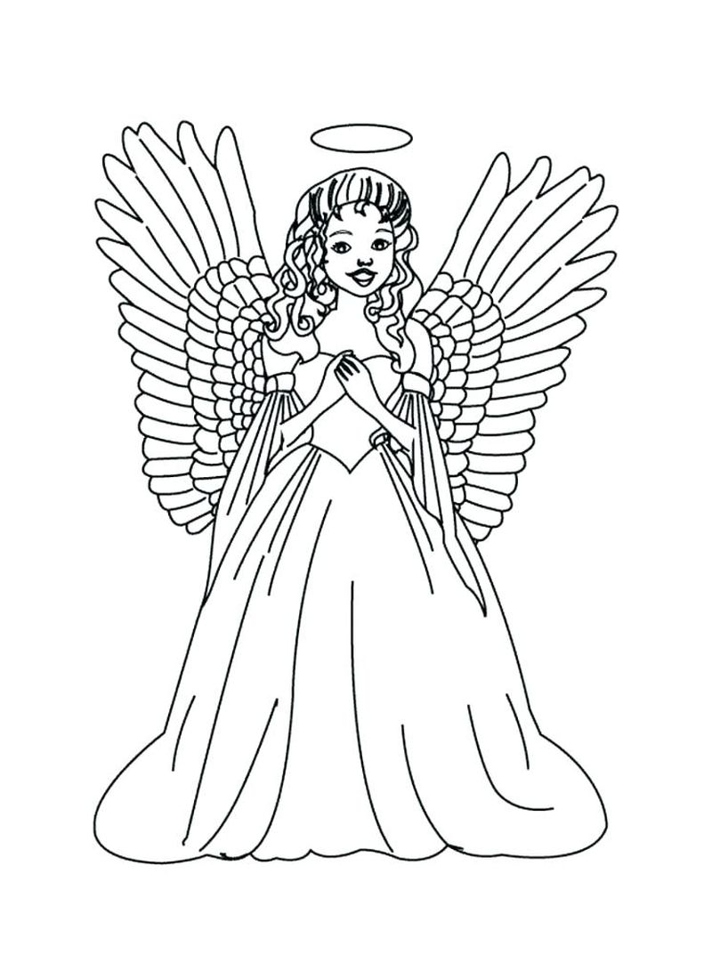 Blue Angel Jet Coloring Pages
