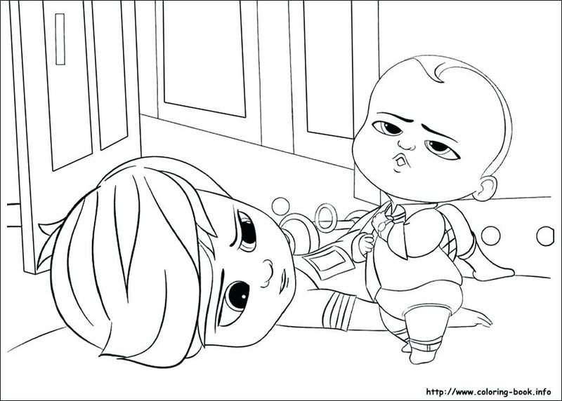 Boss Baby Back In Business Coloring Pages