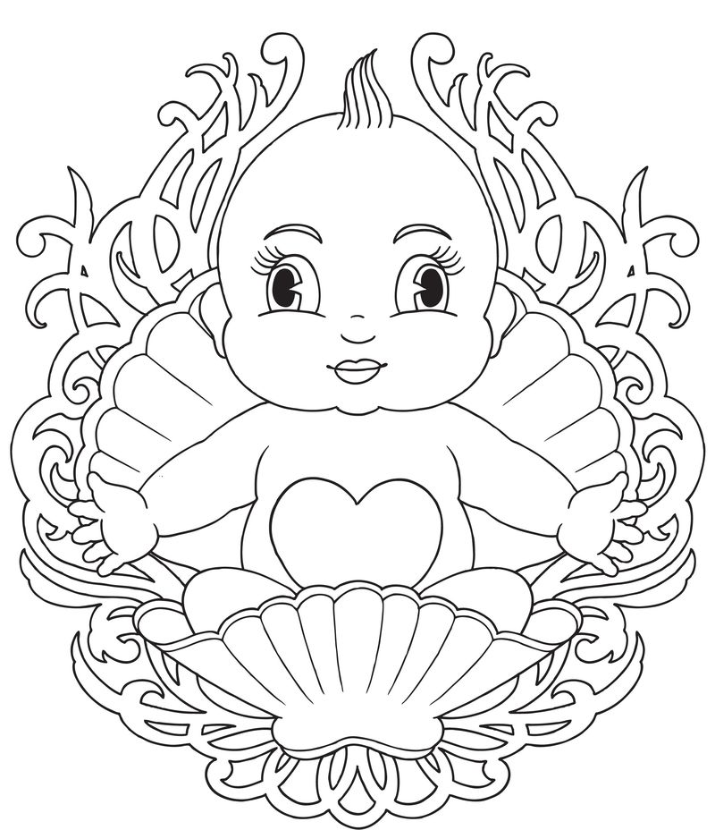 Boss Baby Bootsie Calico Coloring Pages