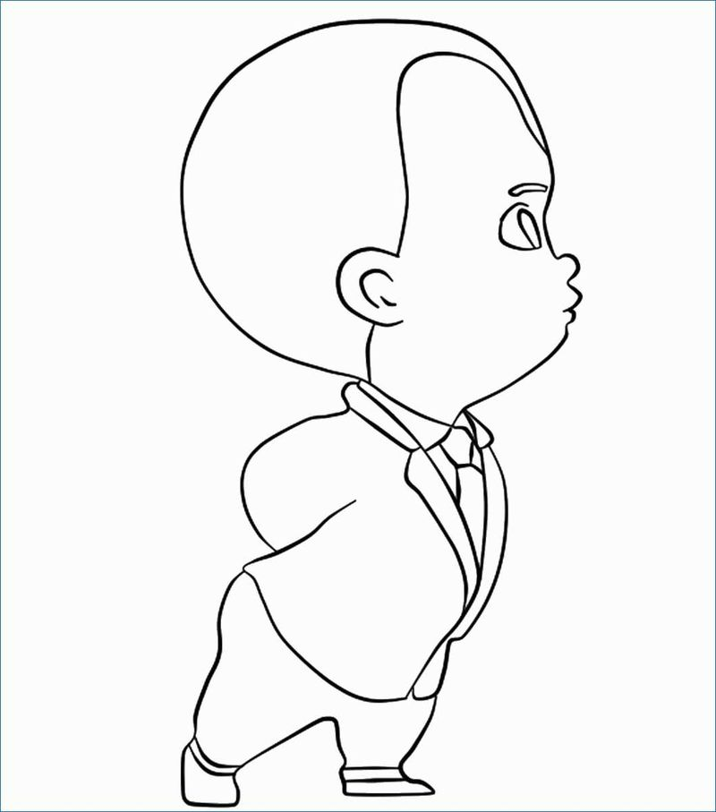 Boss Baby Movie Coloring Pages