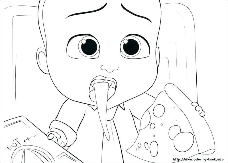 Boss Baby Printable Coloring Pages
