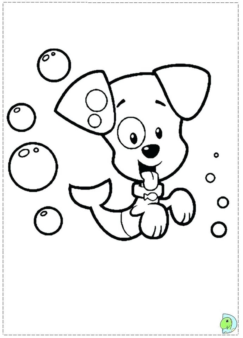 Bubble Guppies Coloring Pages Free Printable
