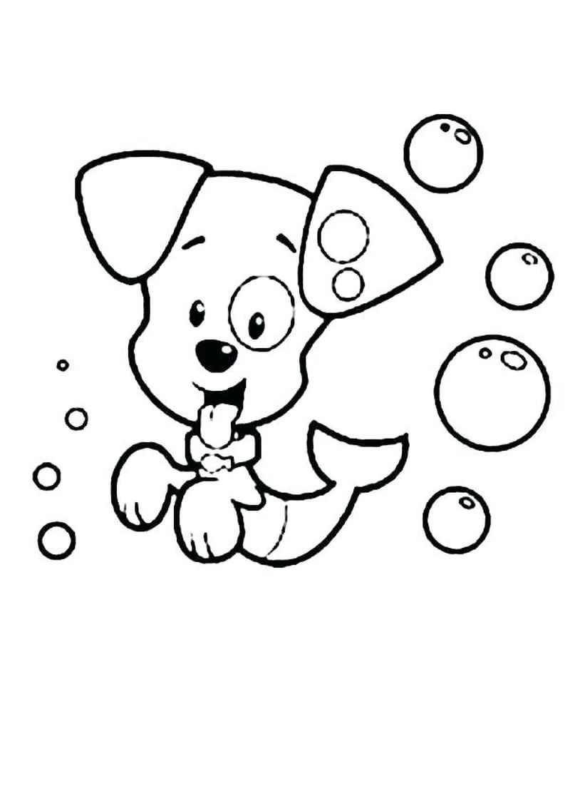 Bubble Guppies Coloring Pages Momjunction
