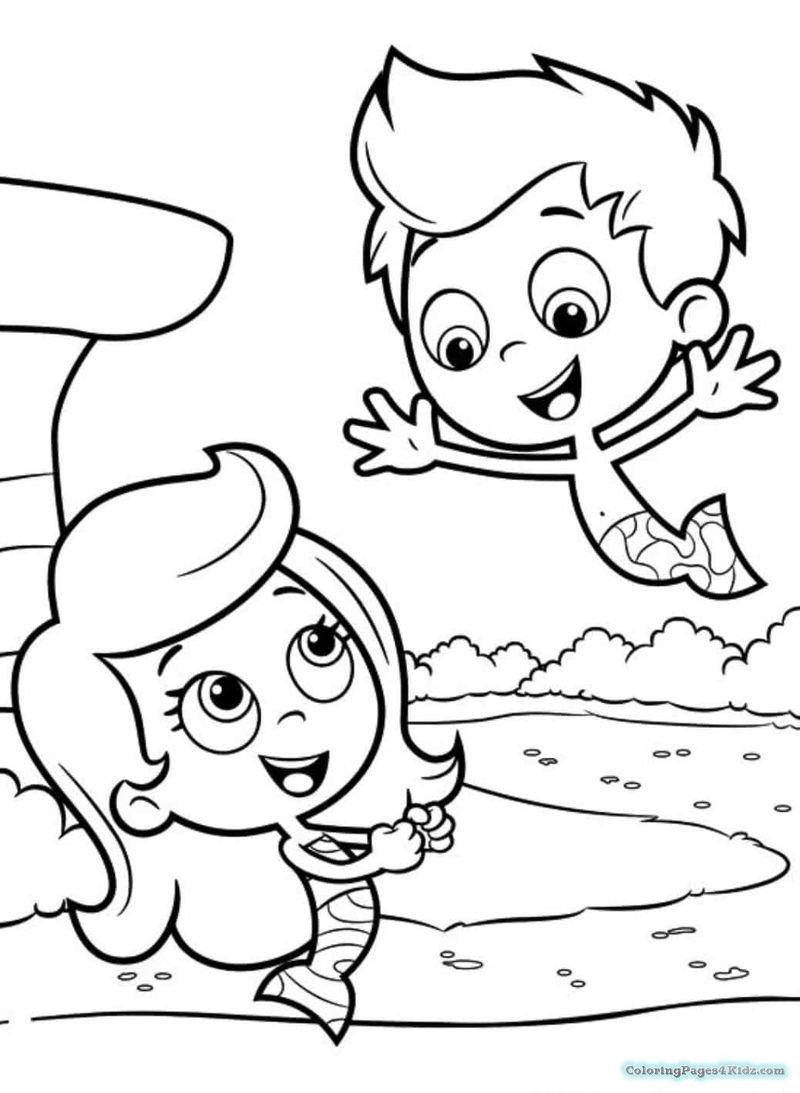 Bubble Guppies Coloring Pages To Print