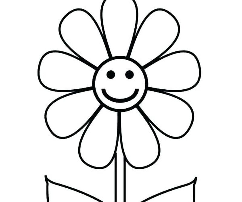 Bugs And Flowers Coloring Pages