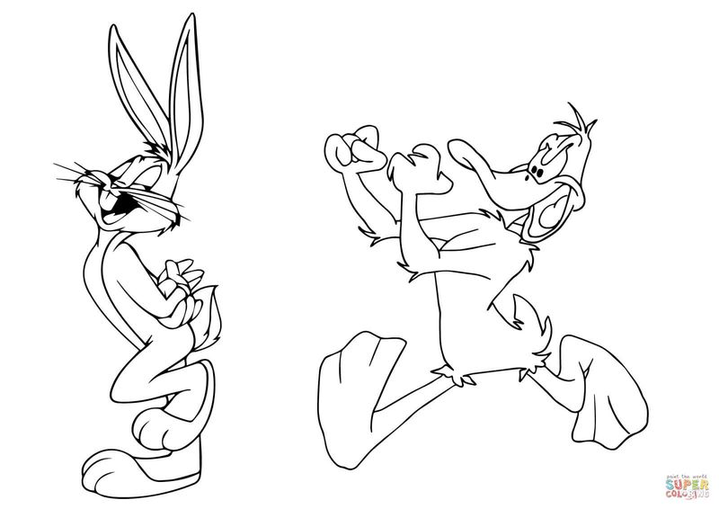 Bugs Bunny Coloring Books