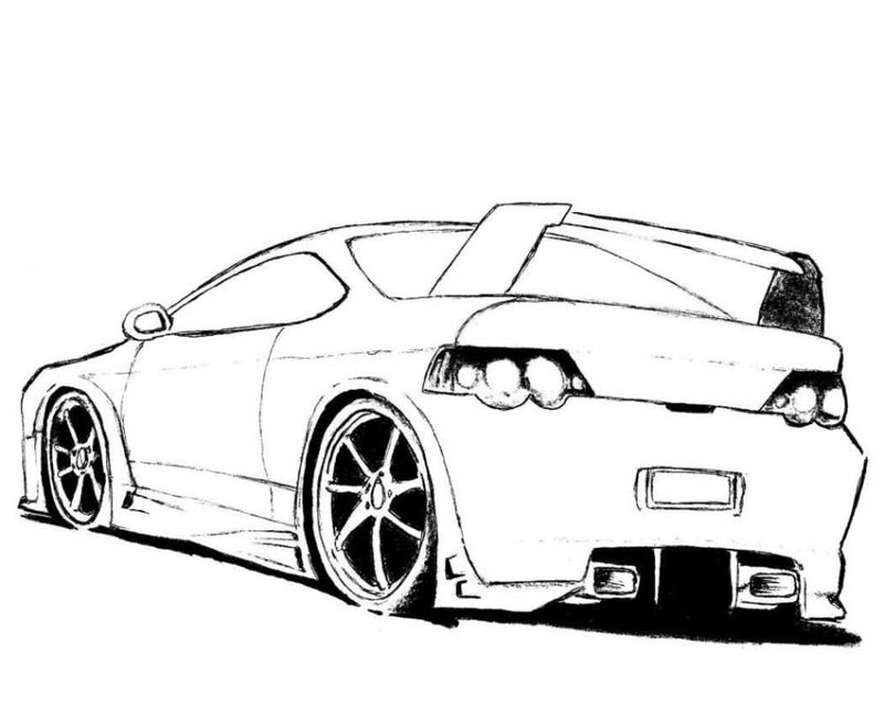 Car Coloring In Pages