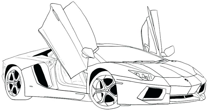 Car Coloring Pages Free Online