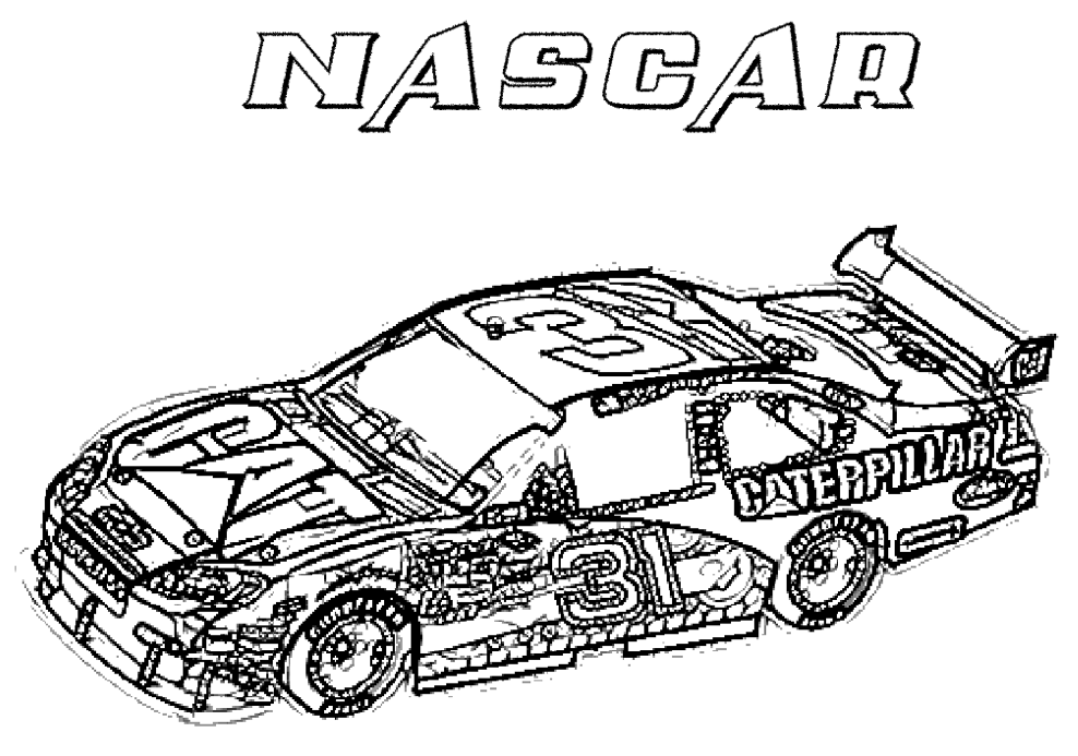 Car Coloring Pages Kids