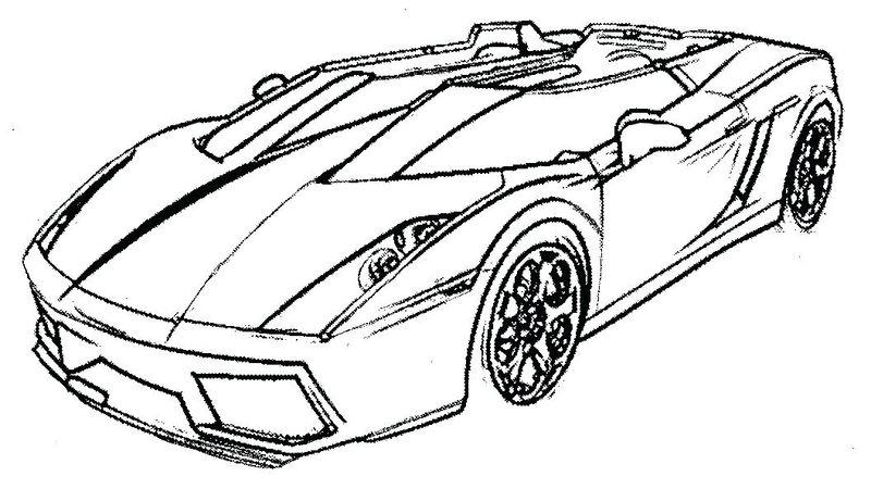 Car Coloring Pages Online Free