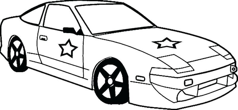 Car Coloring Pages Online