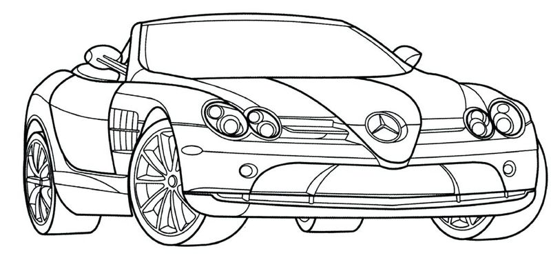 Car Coloring Pages Printable For Free