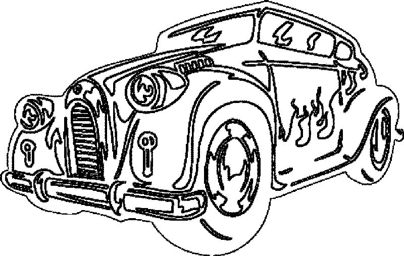 Car Coloring Pages Printable