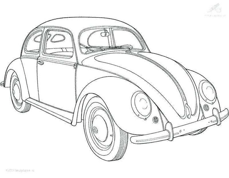 Car Images Coloring Pages