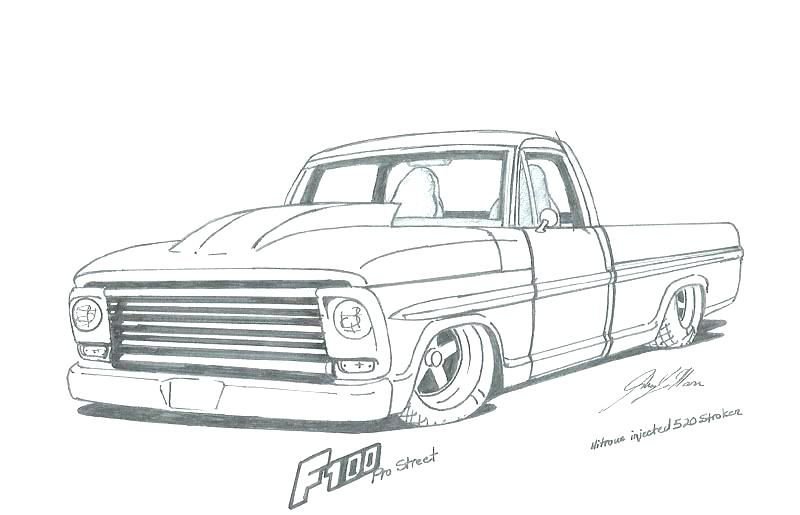 Car Pictures Coloring Pages