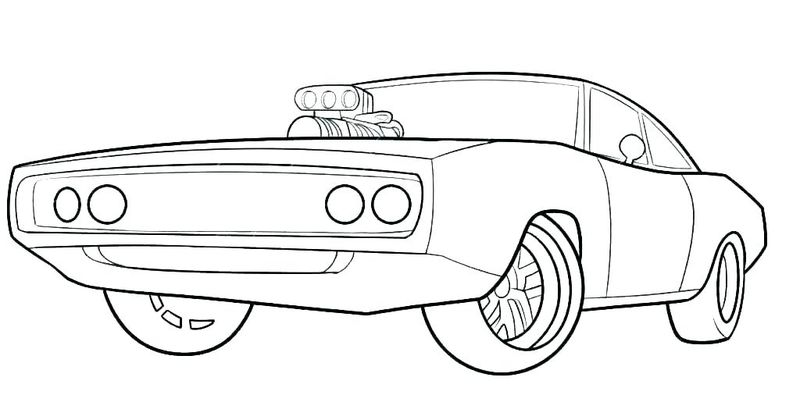 Car To Coloring Pages