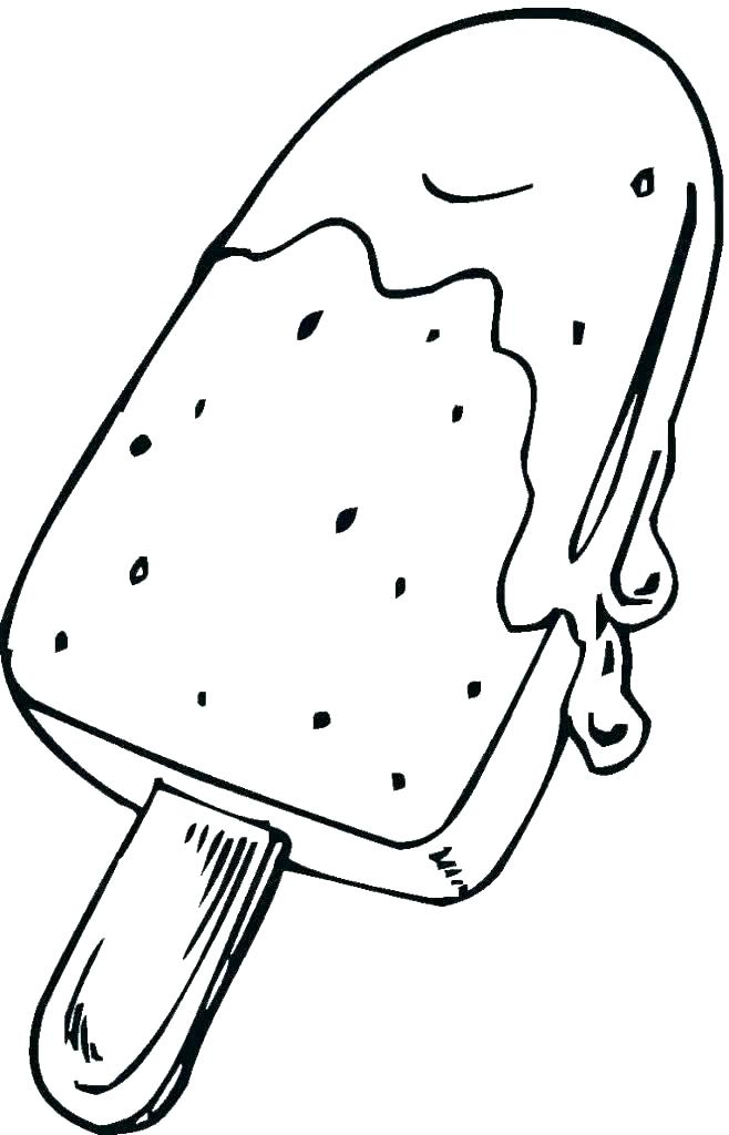 Cartoon Ice Cream Coloring Pages