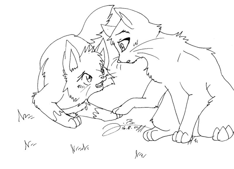 Cat Coloring Pages For Preschoolers