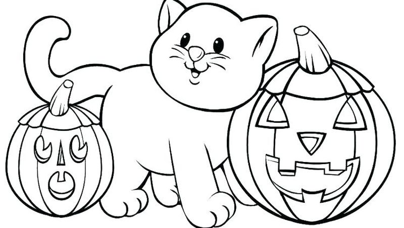 Cat Coloring Pages Online Free