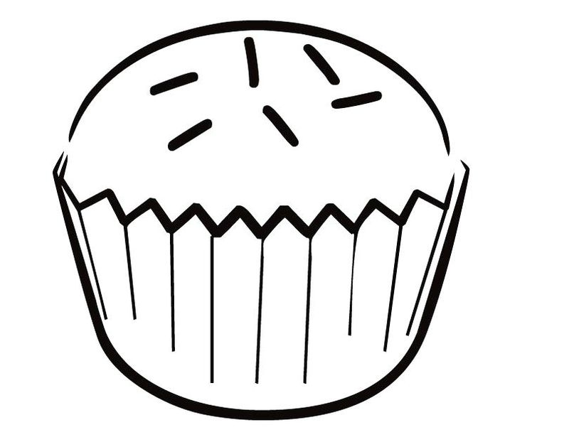 Chibi Coloring Pages Cupcake Fairy