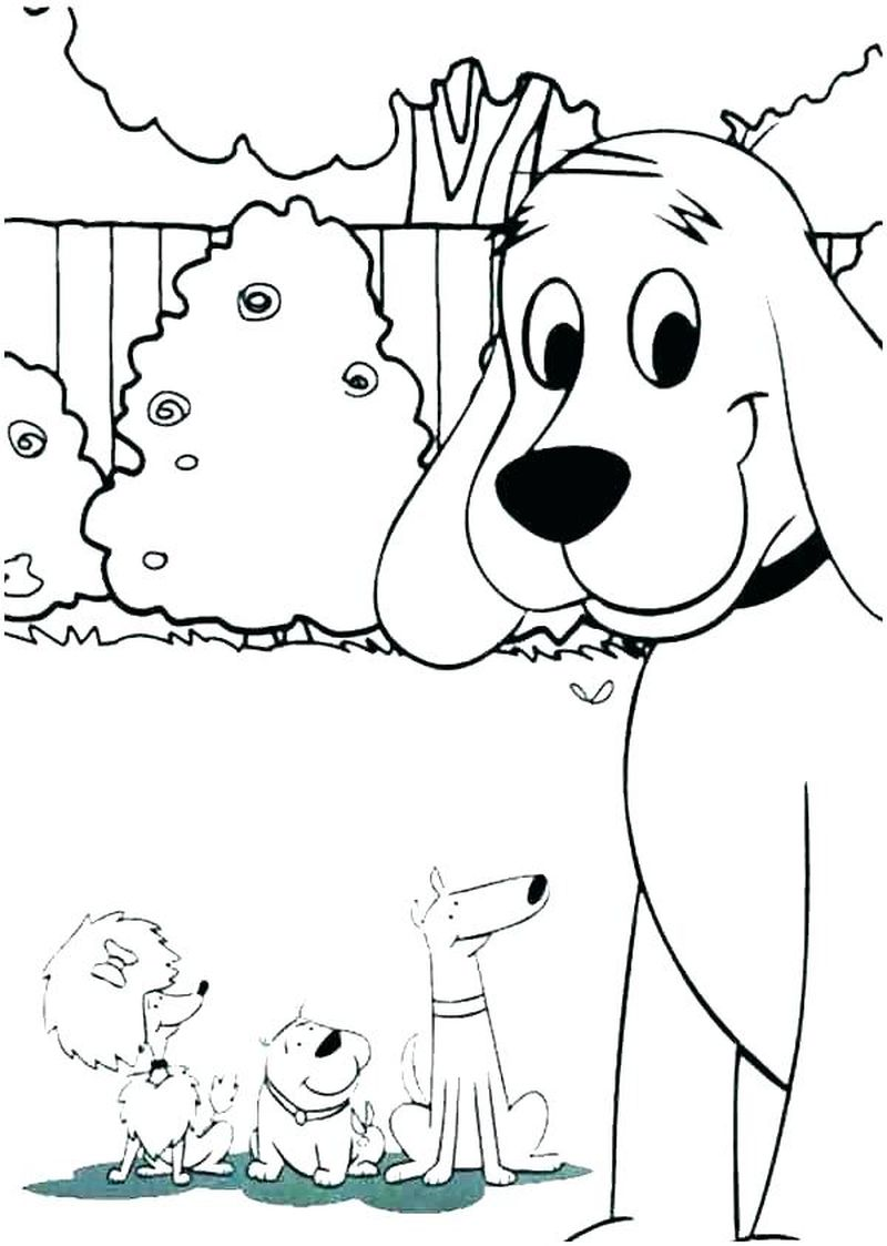 Childrens Coloring Pages Dogs
