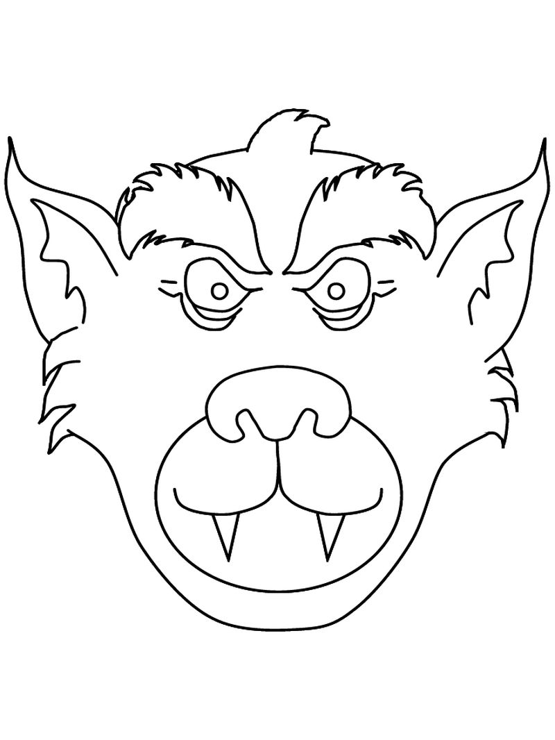 Childrens Halloween Coloring Book Pages