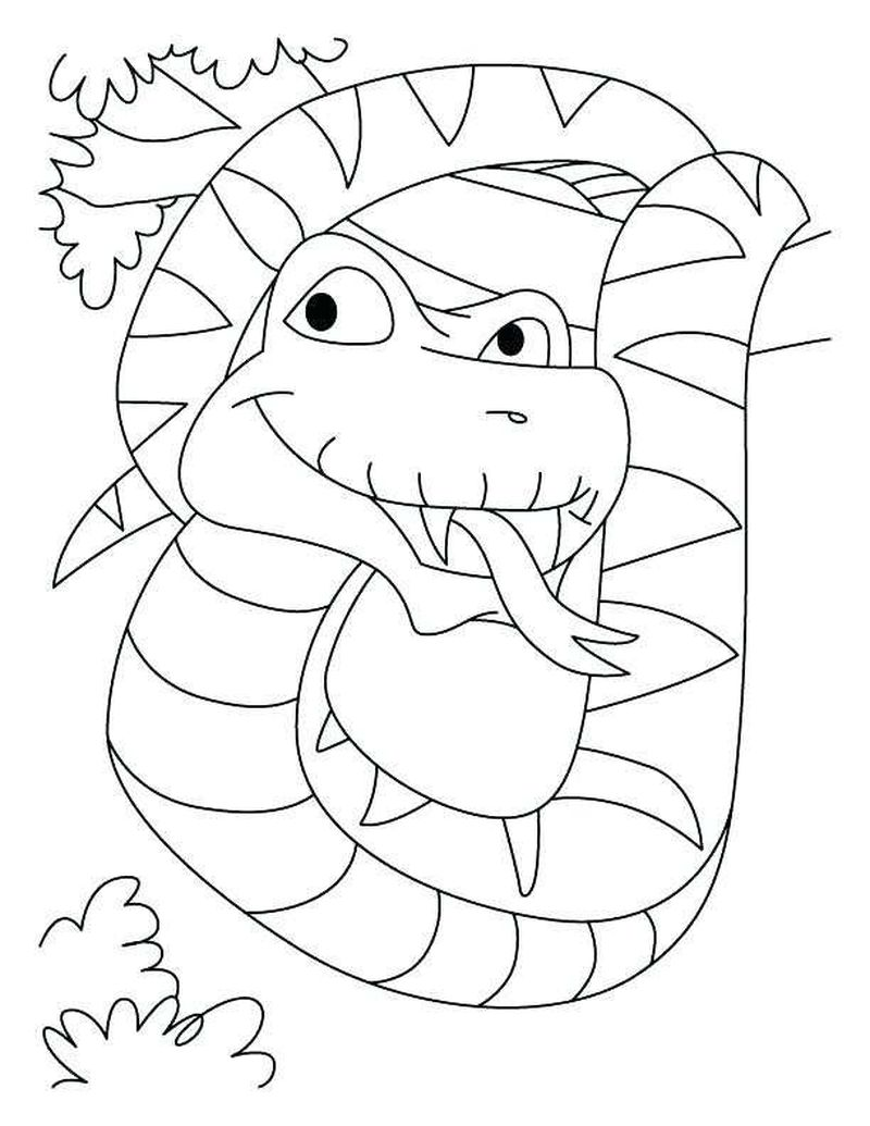 Chinese New Year 2013 Snake Coloring Pages