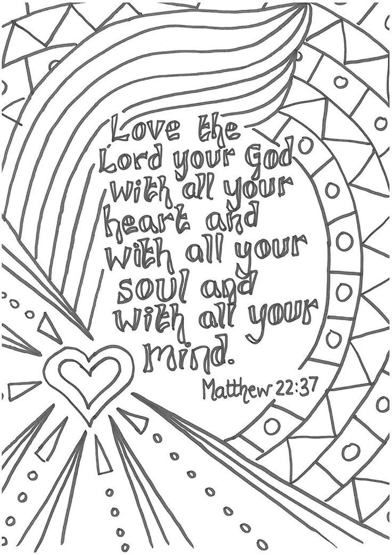 Christmas Quote Coloring Pages