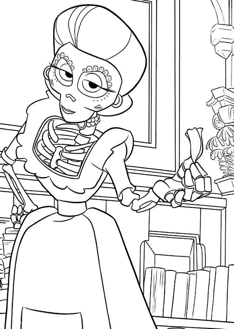 Coco Coloring Pages Free
