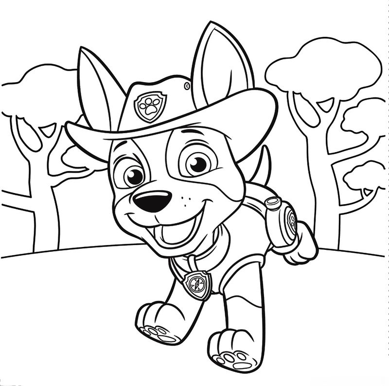 Color Pages Paw Patrol