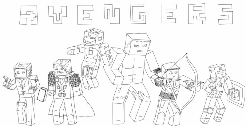Coloring Page Of Roblox