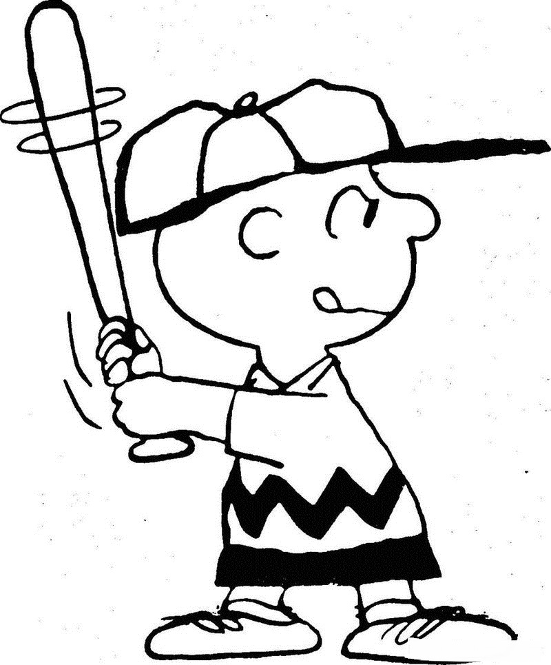 Coloring Page Snoopy
