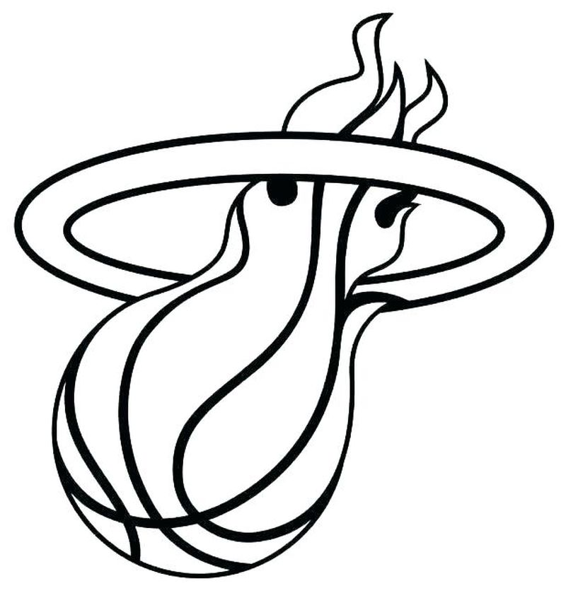 Coloring Pages About Basketball
