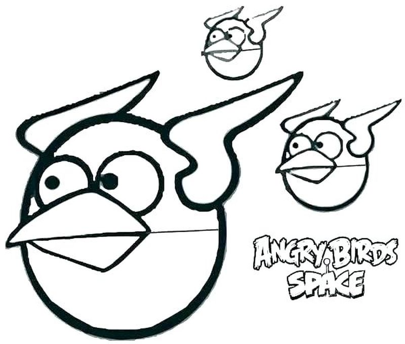 Coloring Pages Angry Birds Seasons