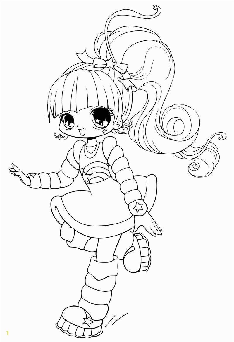 Coloring Pages Anime Girl Ugly