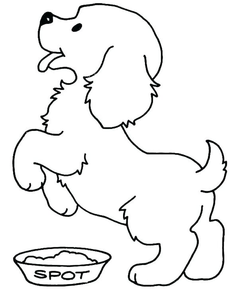Coloring Pages Boxer Dogs