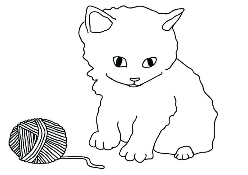Coloring Pages Cats Dogs