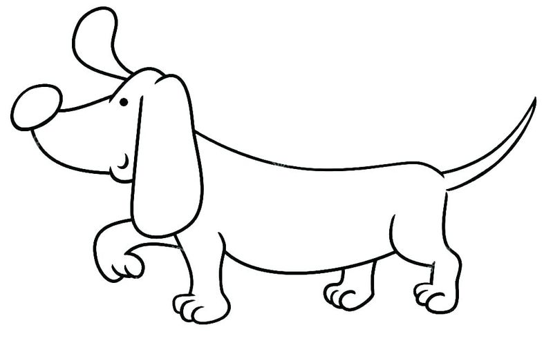 Coloring Pages Dogs Pdf