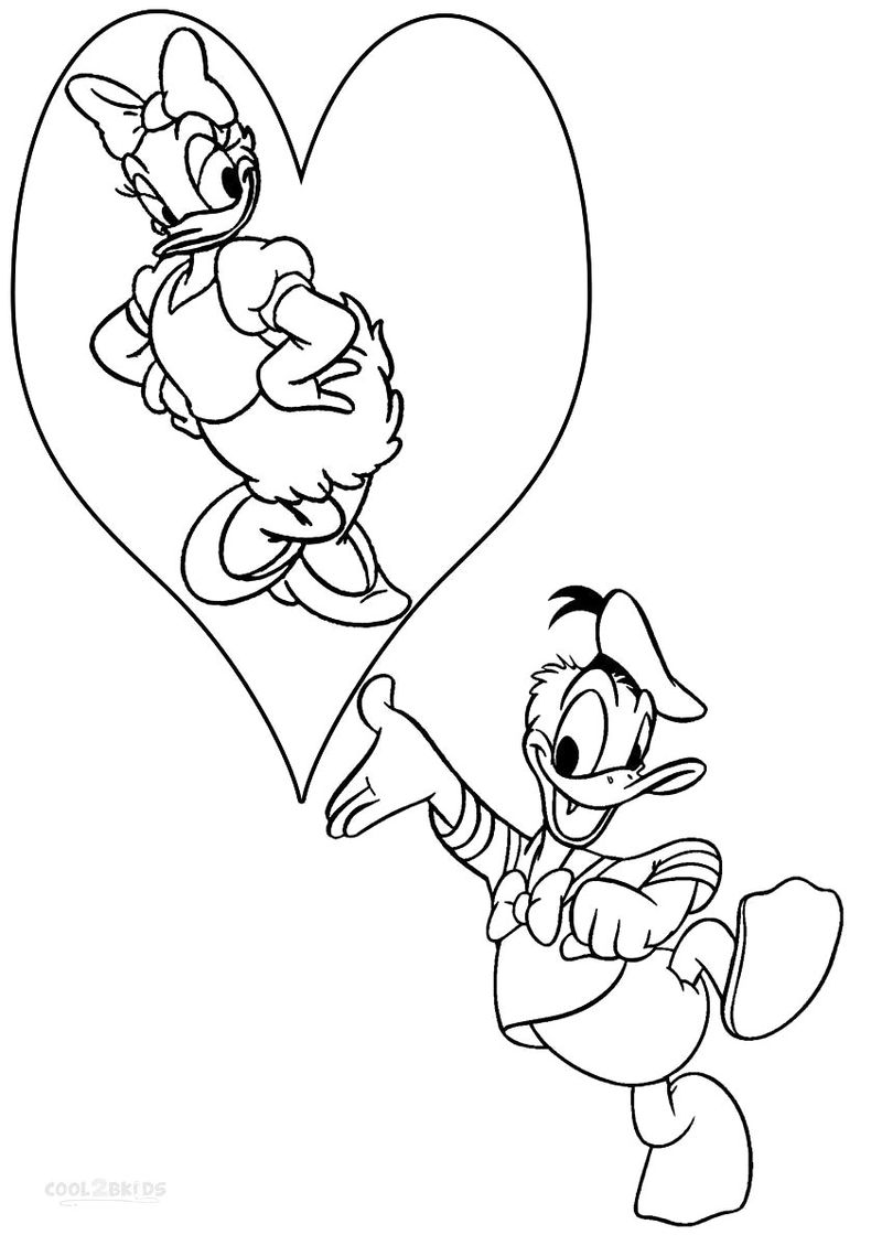 Coloring Pages Donald Duck