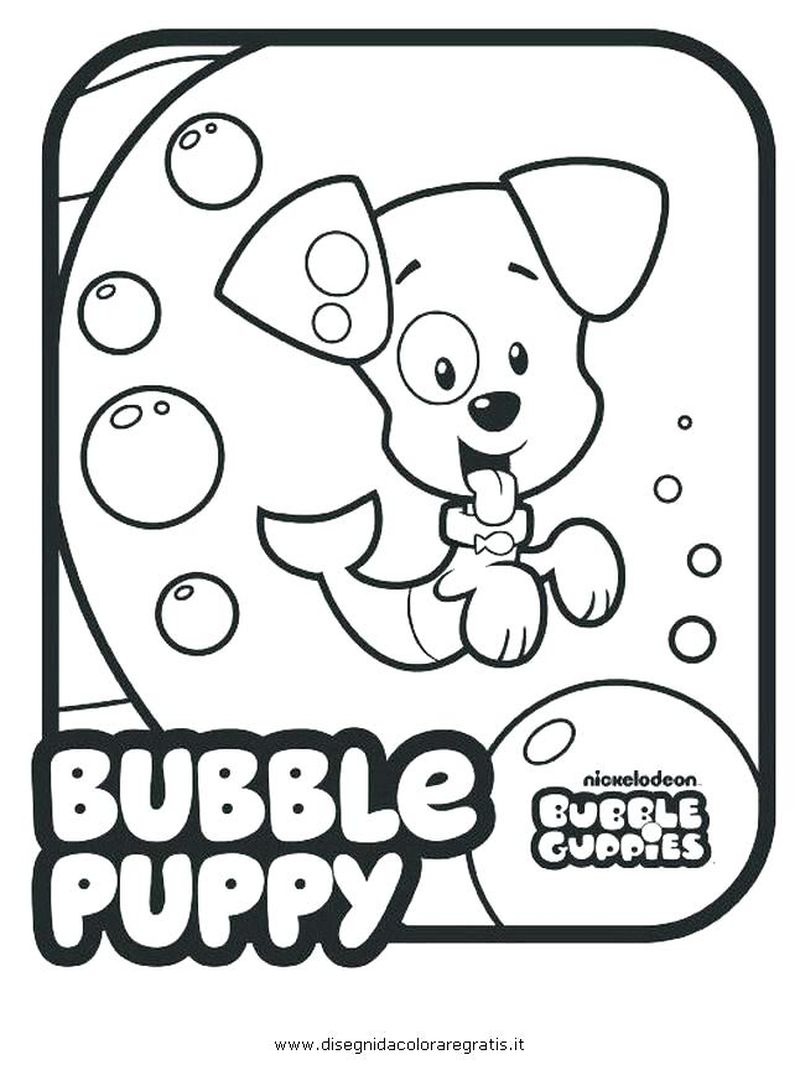 Coloring Pages For Bubble Guppies