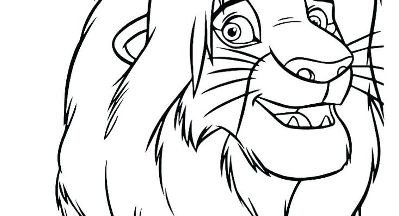 Coloring Pages For Lion King