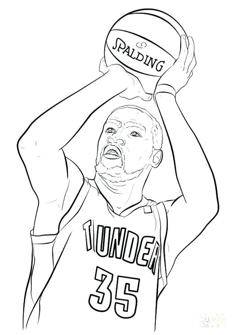 Coloring Pages Gonzaga Basketball