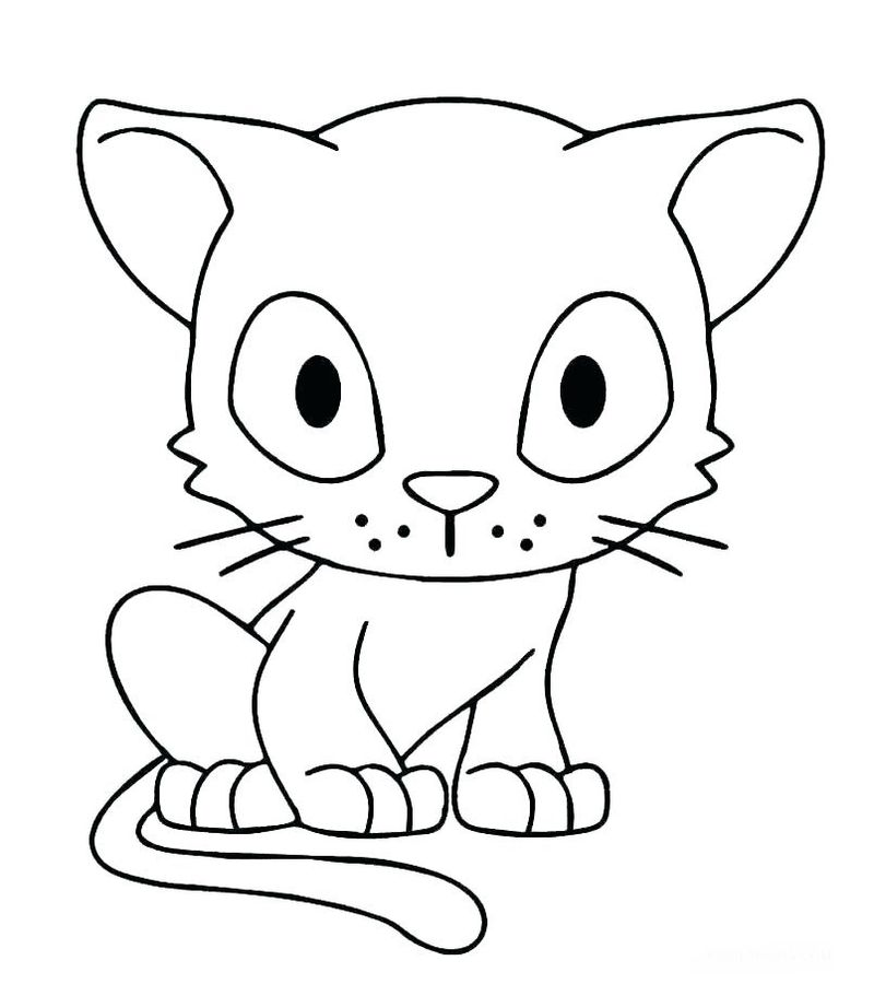 Coloring Pages Halloween Cats