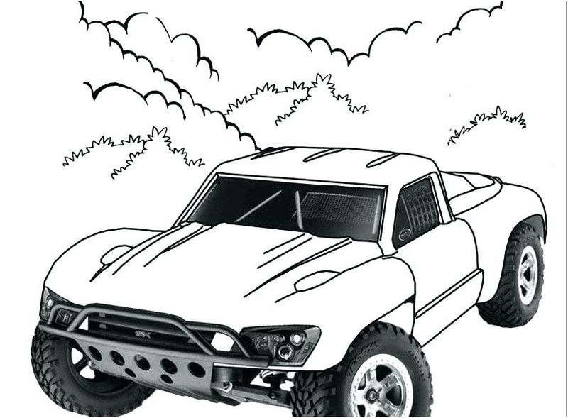 Coloring Pages Of A Car