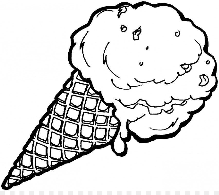 Coloring Pages Of An Ice Cream Cone