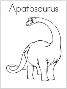 Coloring Pages Of Dinosaur