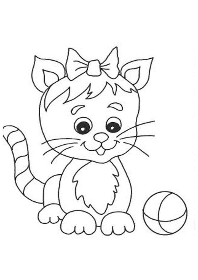 Coloring Pages Of Dogs And Cats Together