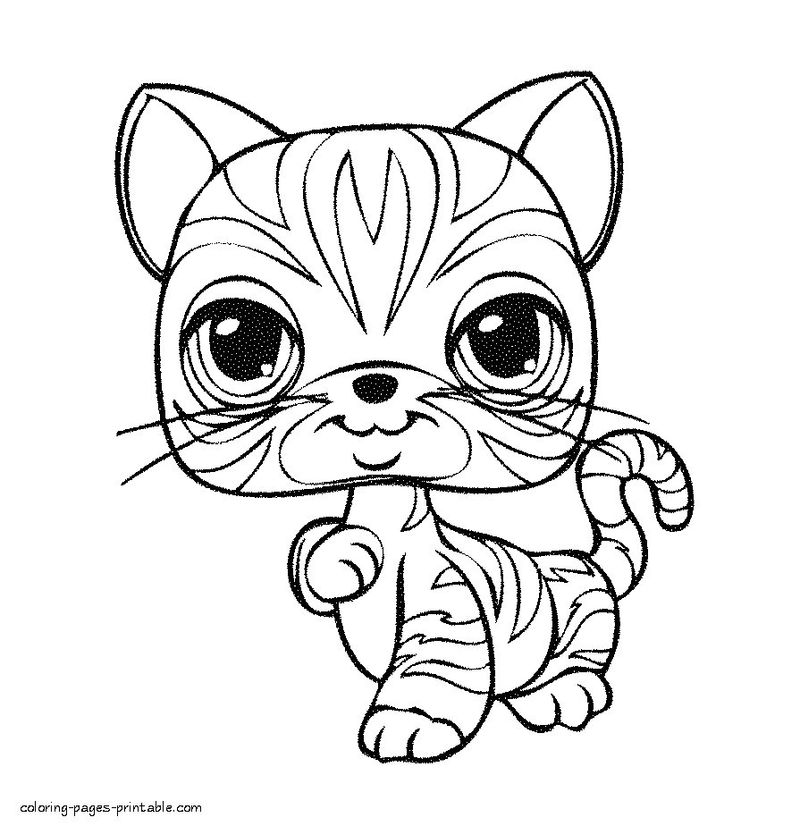 Coloring Pages Of Dogs Cats And Horses