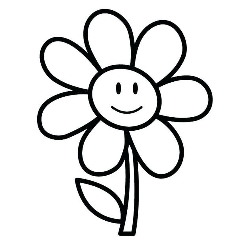 Coloring Pages Of Dogwood Flowers