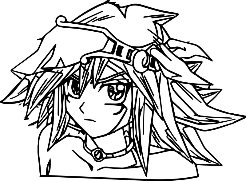 Coloring Pages Of Yugioh Monsters free